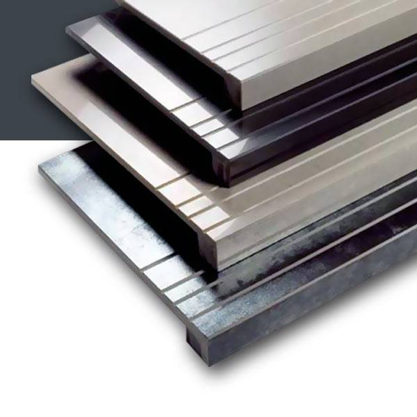 Sistema de antideslizaminto para escaleras de gres y gres porcelánico.