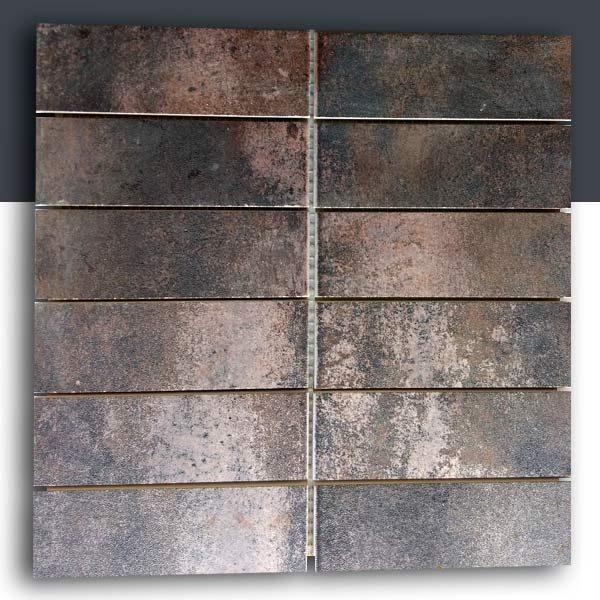 Enmallado Brick 2x6 cerámico