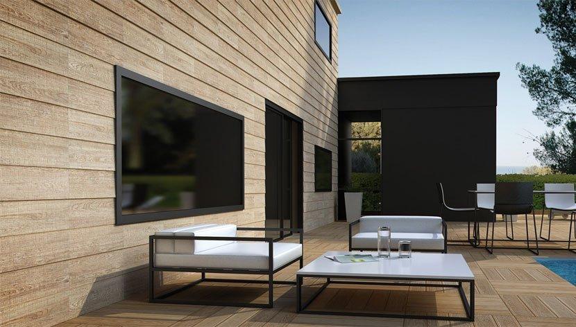 Fachadas cer micas imitaci n madera offertiles - Imitacion madera para fachadas ...