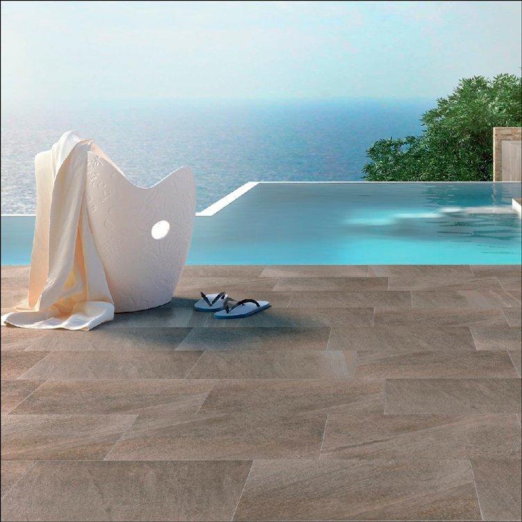 Porcelánico para piscinas y terrazas