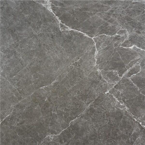 Porcelánico rectificado imitación mármol gris satinado