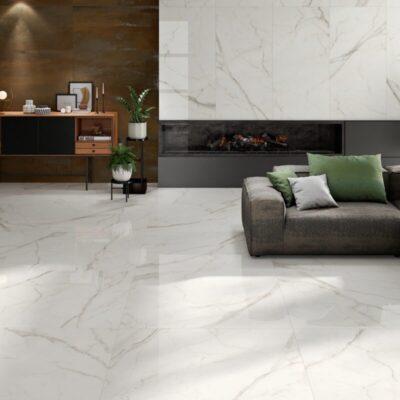 Ambiente Porcelánico Pulido Rectificado 120x120 KIN-120120P